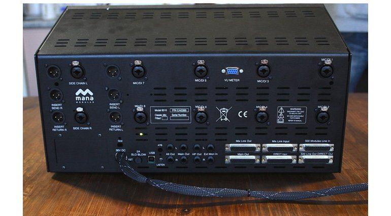 Mana Modular 510 Mixer Console Rueckseite