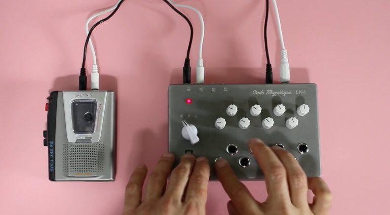 Onde Magnetique OM-1 - Synthesizer mit Kassettentechnologie