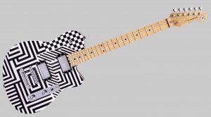 Schachbrett Signature-Gitarre von Reverend gesichtet