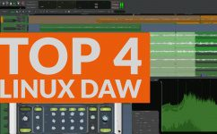 Top 4 DAWs fuer Linux 2016