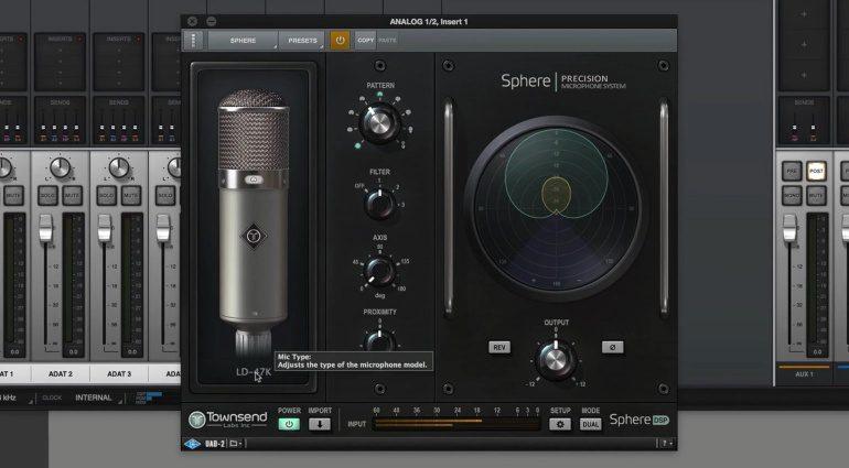 Townsend Labs Sphere L22 Plug-in GUI