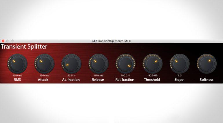 ATK Transient Splitter – ein Transienten-Designer zum Preis eines Cappuccinos