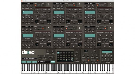 Freeware Plug-in Tipp #21: Dexed - DX7 Synthesizer und Controller