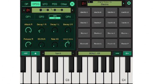 Yamaha FM essential 4OP FM Synth