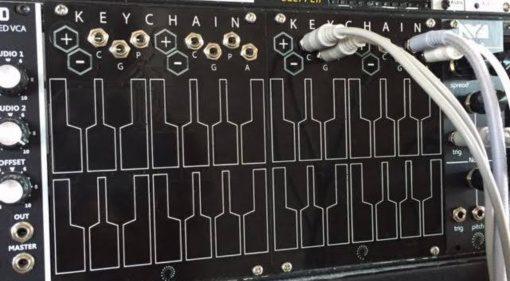 Twisted Electrons keyChain – das modulare Keyboard