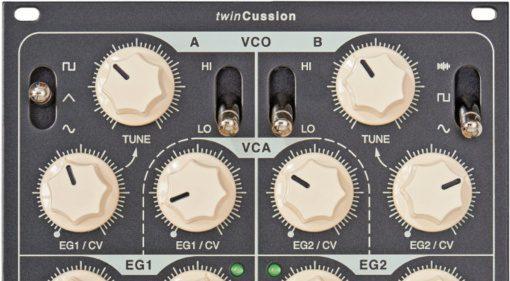 Vermona twinCussion - ein Drum Synthesizer als Eurorack Modul