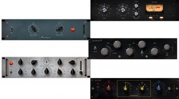 Antelope Audio EQ Compressor PLug-ins GUI