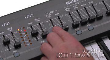Behringer DeepMind 12 - das sechste Video und die geheimnisvollen DCOs