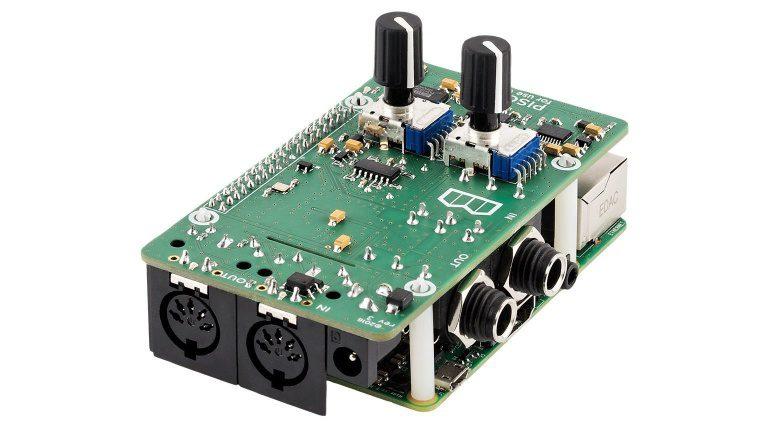 Blokas Labs PiSound Audio Interface Raspberry PI Seite