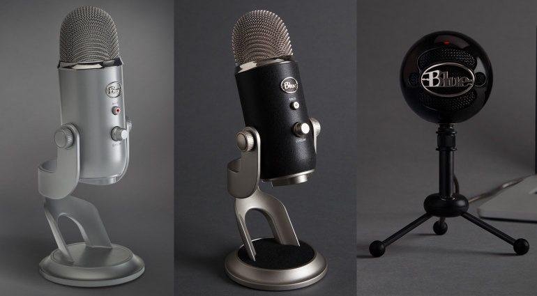 Blue Microphones Yeti Pro Snowball Studio Mikrophon Mikro Front
