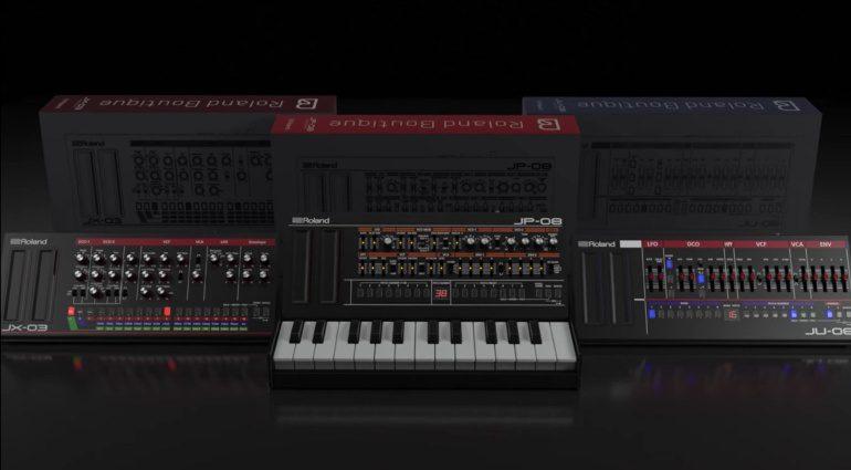 Roland JU-06, JP-08, JX-03 Update 1.10 - endlich können wir die Kleinen kontrollieren!