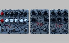 COG effects T47 T65 T70 Octaver Pedale Front