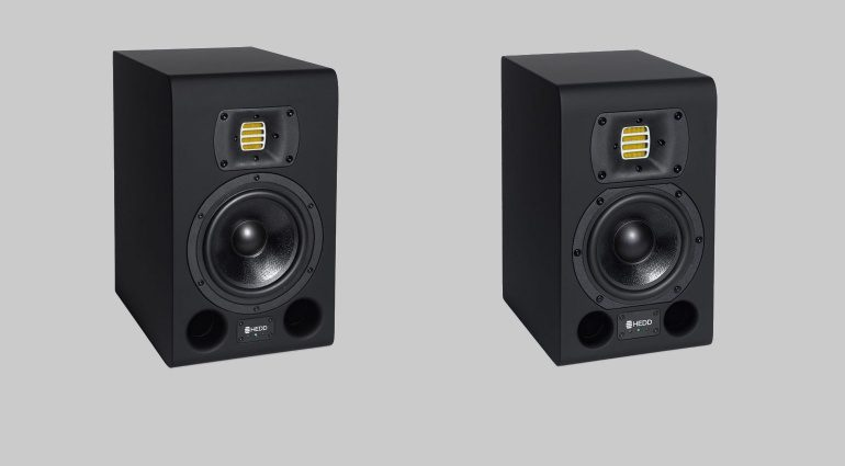 HEDD Type 05 Type 07 Studio Monitore Front