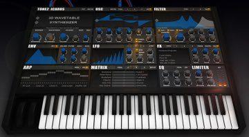 Tone2 Icarus - virtueller Synthesizer mit neuartiger 3D Wavetable Technologie veröffentlicht!