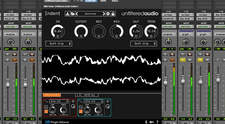 Plugin Alliance und Unfiltered Audio verschenken Indent!