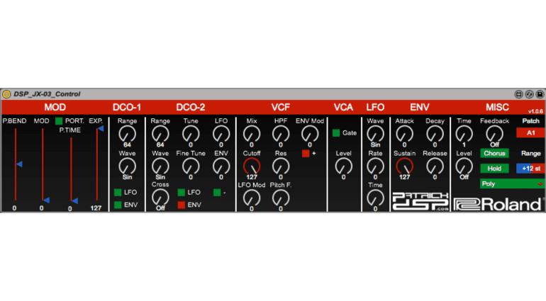 Roland Boutique Synthesizer - Fernsteuern leicht gemacht