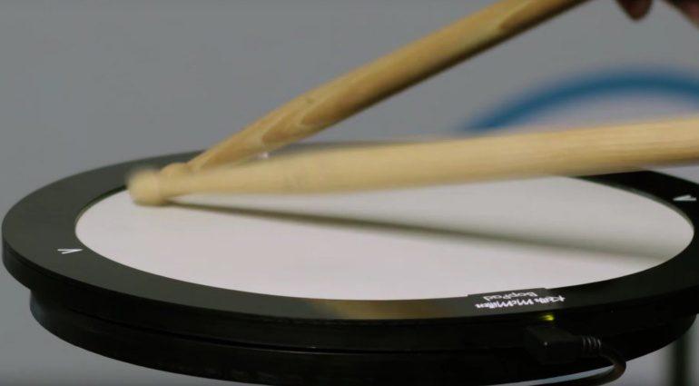 Keith McMillen BopPad Drum MIDI Controller Kickstarter Seite