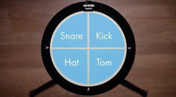 Keith McMillen BopPad Drum MIDI Controller Kickstarter Top View