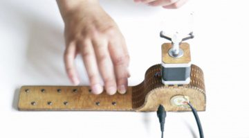 Koka's Stepper Miniature - der erste motorbetriebene Klangerzeuger
