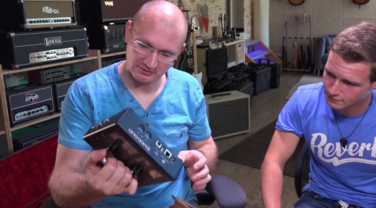 Mod Duo Modelling Pedal Unboxing
