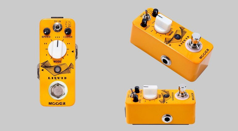 Mooer Liquid Phaser Modulations Pedal Front Seite