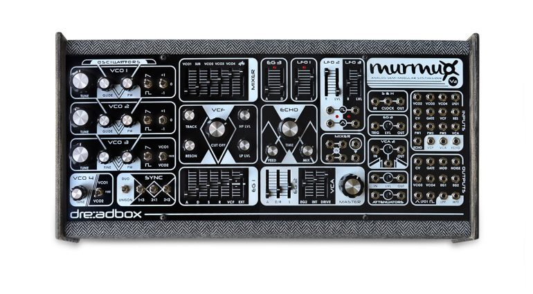 Dreadbox Murmux V2 Limited Edition - 50 schicke paraphone Analogsynthesizer