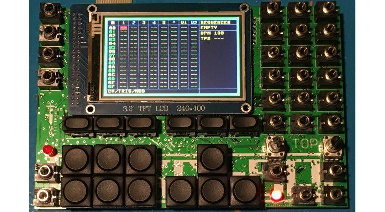 Nerdseq - ein Tracker-basierter Eurorack Sequencer