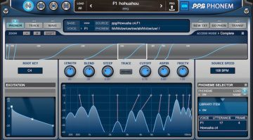 Wolfgang Palm PPG Phonem for iOS - ein Vocal Synthesizer für das iPad