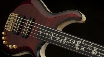 PRS Private Stock Grainger 5 Fretless Bass