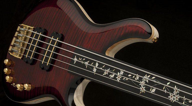 PRS Private Stock Grainger 5 Fretless Bass