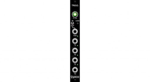 Erica Synth Pico Trigger - Web-basierter Eurorack Trigger Sequencer