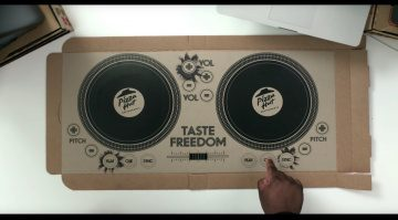 Pizza Hut DJ Controller Box