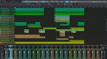 Presonus Studio One 3.3 GUI Oberflaeche Mixer Editor DAW