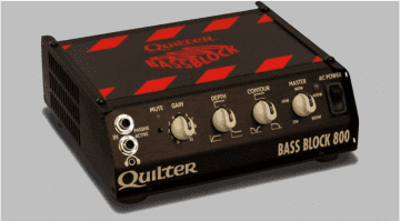 Quilter Amplification Bass Block 800 Topteil Amp Head Front