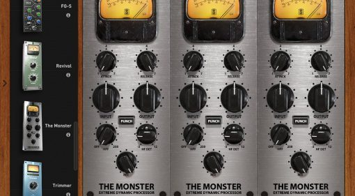 Slate Digital lässt das Monster raus - The Monster Extreme Dynamic Processor