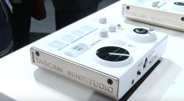 Tascam MiniStudio US-32 Prototyp Musikmesse Audiointerface USB
