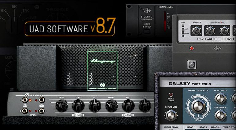 Universal Audio UAD 8.7 Update mit Manley Voxbox und mehr