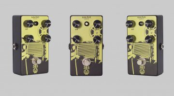 Walrus Audio 385 Overdrive Pedal Front Gray Back