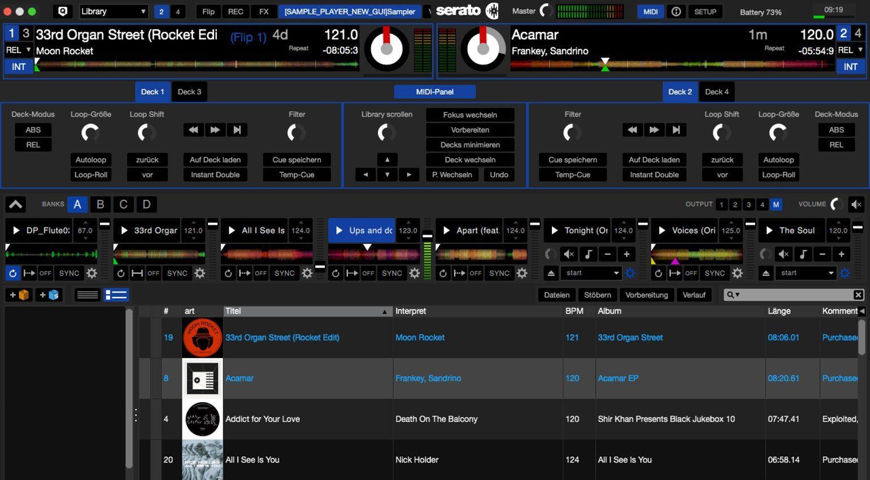 Serato DJ 1 9 3 Public Beta: Neuer Sampler und MIDI-Mapper