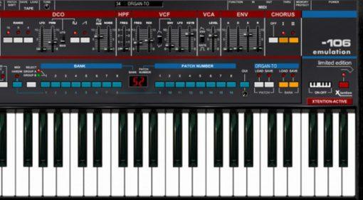 TubeOhm 106-Emulation - und der nächste virtuelle Roland Juno-106
