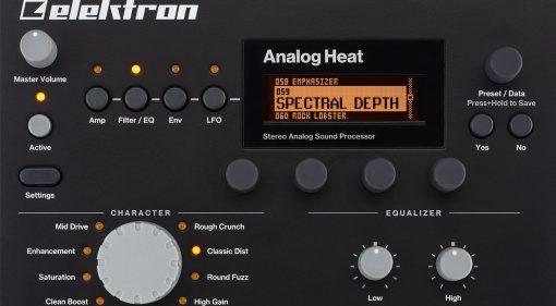 Elektron Analog Heat - ein nobler analoger Verzerrer mit etlichen digitalen Extras
