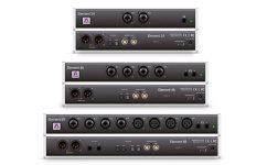 Apogee Element Thunderbolt Audio Interface Series Front Rueckseite