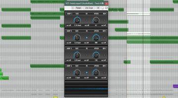 Audio Blast Instalooper GUI Oberfläche Plug-in Freeware Reaper DAW