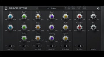 AudioThing Space Trip Plug-in Multi Effekt GUI