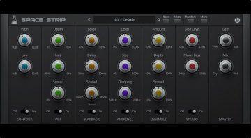 AudioThing Space Trip Plug-in Multi Effekt GUI