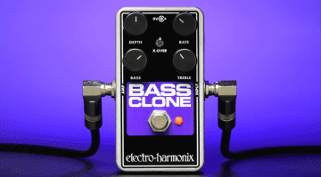 EHX Bass Clone Pedal Front