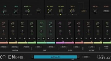 Inear Display Ephemere - Glitch-ige FM Percussions als VSTi