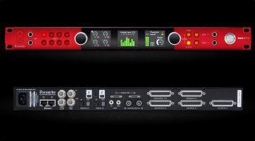 Focusrite Red 8Pre Thunderbolt Audio Interface Front Rueckseite
