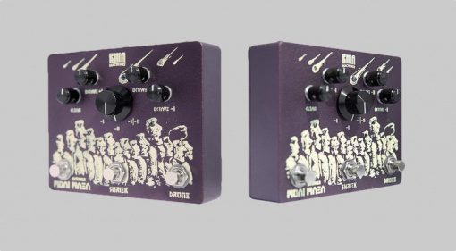 KMA Machines Moai Maea Oktaver Effekt Pedal OC-07 Front