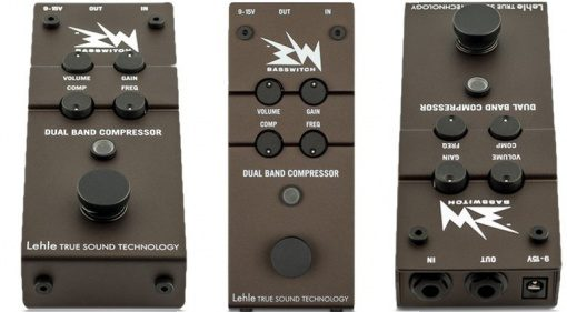 Lehle RMI Basswitch Dual Band Compressor Pedal Bass Front
